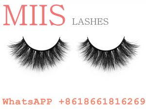 Popular invisible band 3D mink eyelashes