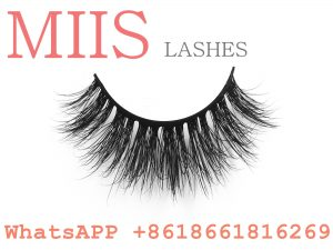 clear band bandless 3D mink lashes