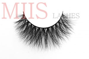 acruelty free sable fur eyelashes private label