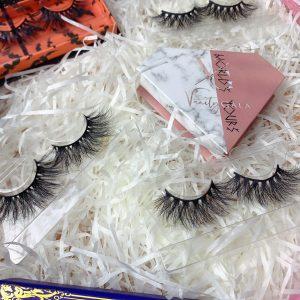 custom eyelash box packaging